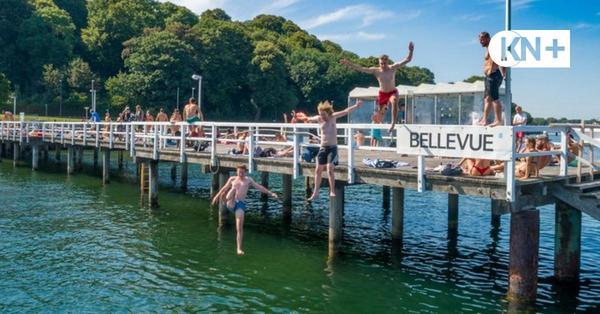 Stadt will eine Badebrücke Bellevue