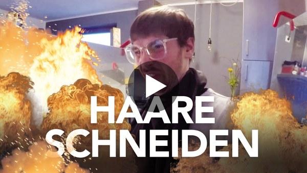 Haare schneiden mit Heimwerkerking Fynn Kliemann