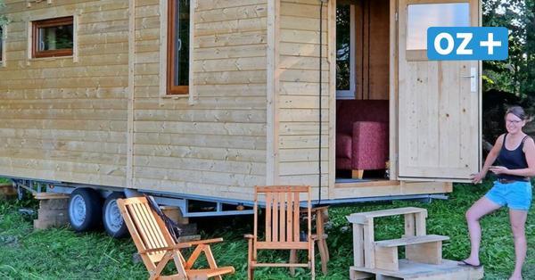 Greifswald: Forscher präsentieren mobiles Tiny House aus Moormaterial