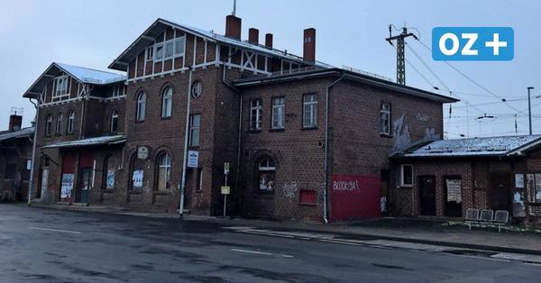 So wird aus dem Grimmener Bahnhof eine Wohnungsverwaltung
