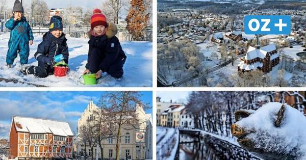 Winterwunderland MV: Das sind die schönsten Schnee-Fotos aus dem Land