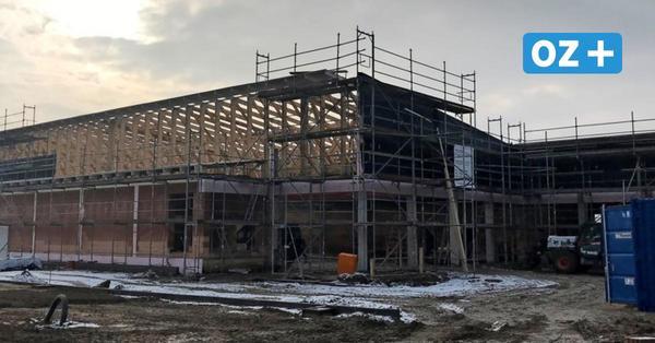 Discounter-Neubau in Grimmen: Zügiger Ausbau statt Richtfest