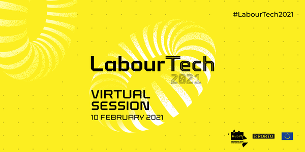 """Next week I will host the LABOURTECH 2021 event """"Industry 4.0 technologies and its impact on the labour market"""" (registration link in the picture)"""