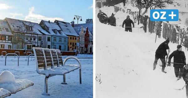 Bis zu 60 Zentimeter Schnee: Katastrophaler Wintereinbruch in MV kündigt sich an