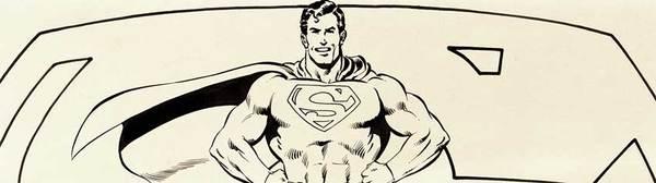 Neal Adams - Superman Original Art
