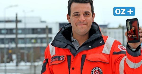 Rostock: Tiktok-Video von Rettungssanitäter geht viral