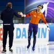 Schaatser Kai Verbij klopt Krol op 1000 meter en wint wereldbeker