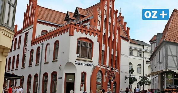 Doch nicht das Aus? Traditionsreiche Ratsapotheke in Wismar soll erhalten bleiben