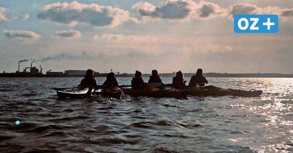 Projekt an Wismars Gymnasien: Wie Kanu-Unterricht auf der Ostsee funktioniert