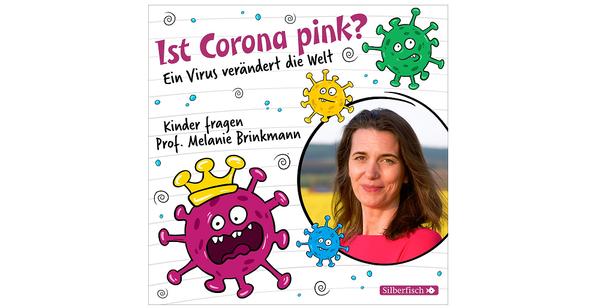 "Cover des Hörbuchs ""Ist Corona pink?"", Silberfisch bei Hörbuch Hamburg"