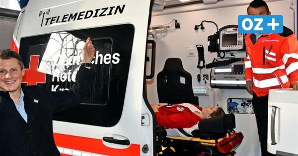 Rügener Krankenwagen mit Telenotfallmedizin ausgestattet
