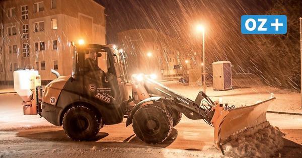 Vorpommern-Greifswald: Räumfahrzeuge bereits 40 Tage im Einsatz – auch ohne Schnee