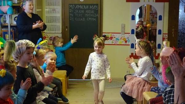 Prenzlauer Kindergarten feiert Crazy-Hair-Party