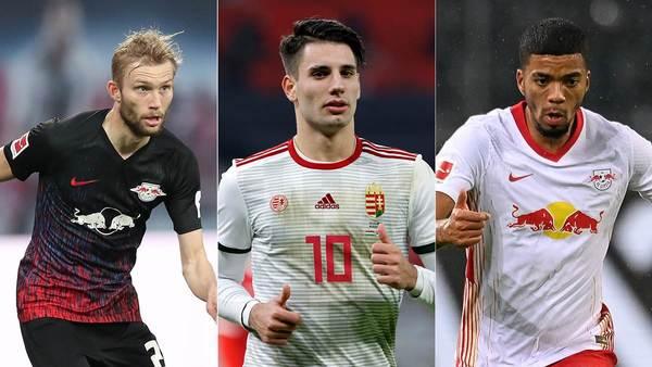 Bei Laimer, Szoboszlai und Henrichs geht's voran: RB Leipzigs Personal-Update vor dem Spiel auf Schalke