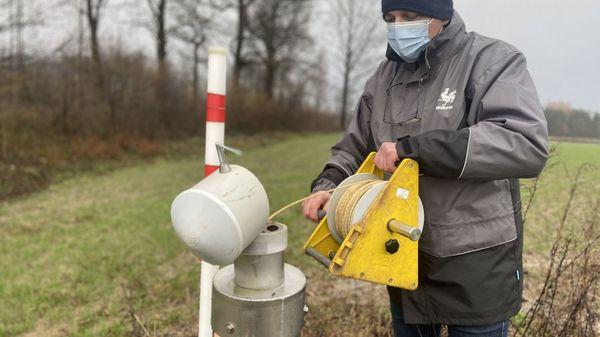 La pluie a (au moins) une vertu: les nappes se remplissent - Het grondwater stijgt dankzij de regen