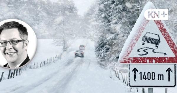 Schneefälle und Blitzeis - so extrem wird das Wetter am Wochenende