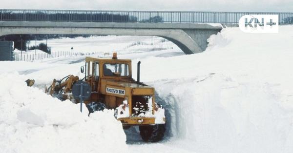 Seltene Wetterlage: Wiederholt sich die Schneekatastrophe von 1978/79?