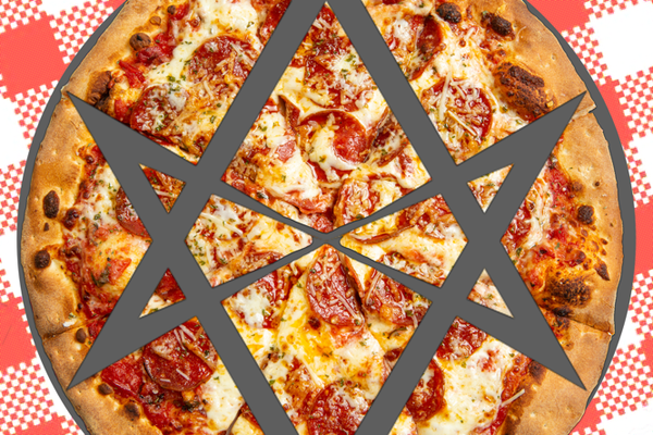 The only correct way to slice pizza. Fight me.