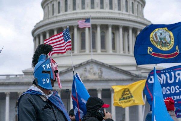 Les terroristes du Capitole s'inspirent du monde antique