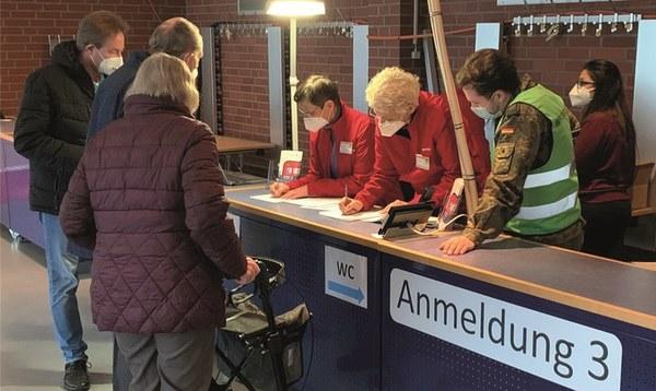 87 Personen bekamen ihre erste Impfung - Heidekreis - Walsroder Zeitung