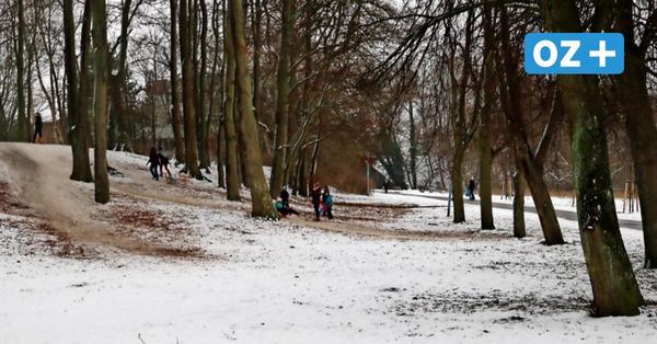 Die beliebtesten Rodelstrecken in Ribnitz-Damgarten, Barth und auf dem Darß