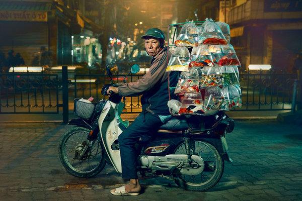 Hanoi Bikes - eine Serie von Jon Enoch (www.jonenoch.com)
