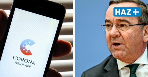 So will Innenminister Pistorius die Corona-App verbessern