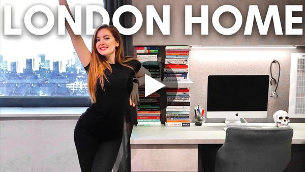 HOME TOUR - My London Medical Student Flat