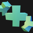 Rotating Loading Animation of 3D Shapes with Three.js