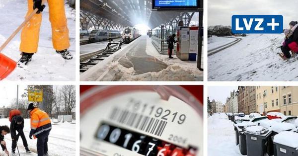 Wetterlage extrem: Wintereinbruch in Leipzig: Was Sie jetzt beachten müssen