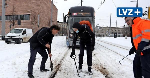 Winterchaos in Leipzig: Warum dreht sich bei den LVB kein Rad?