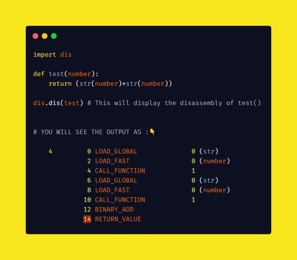 dis module in python