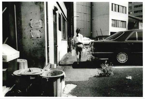Daido Moriyama, Daido hysteric no.6 1994, 1994 Vintage gelatin silver print 10 9/10 × 13 9/10 in 27.7 × 35.4 cm Unique