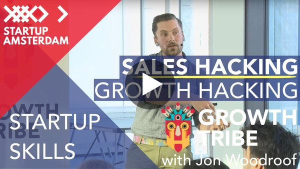 Growth Hackers Amsterdam Meetup - Sales Hacking with Jon Woodroof (2015)