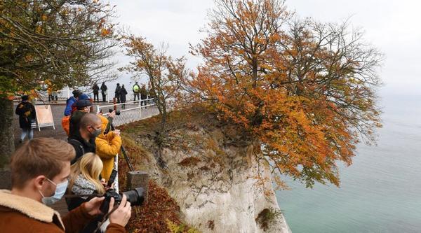 Zugang zu Rügens Königsstuhl wird bald gesperrt
