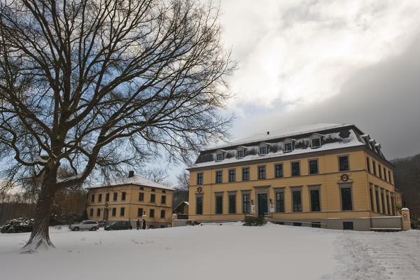 Das Jagdschloss Springe im klassizistischen Stil beherbergt heute ein Museum. (Foto: Andreas Zimmer)