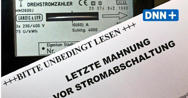 Stromsperren in Dresden während Corona nur noch sehr selten