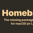 3.0.0 — Homebrew