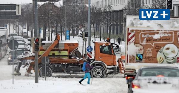 Wintereinbruch in Leipzig: zwischen Verkehrschaos und städtischem Skilanglauf