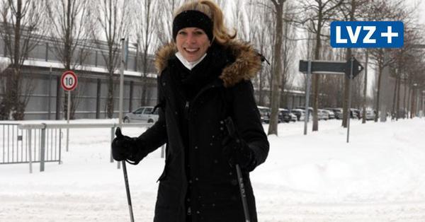 Auf Skiern, Schlitten oder zu Fuß – so bewegt sich Leipzig durch den Schnee