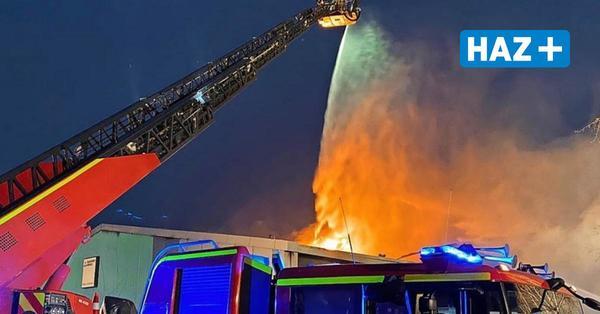 Millionenschaden: Nach Großbrand in Langenhagen steht jetzt die Ursache fest