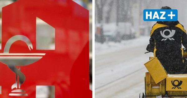 Glätte und Schnee: Sind die Post, Apothekenlieferdienste und Essen auf Rädern noch unterwegs?