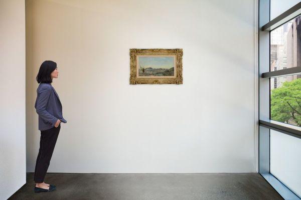 Un tableau représentant une pêcheuse de crevettes à Dunkerque vendu 90 000 euros à New-York - Schilderij met garnaalvisser uit Duinkerke haalt 90.000 euro in veiling New York