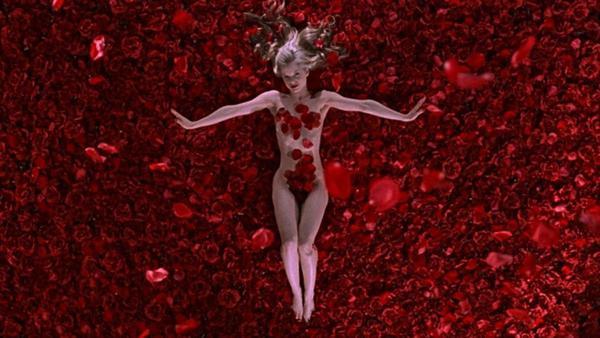 Escena de 'American Beauty'