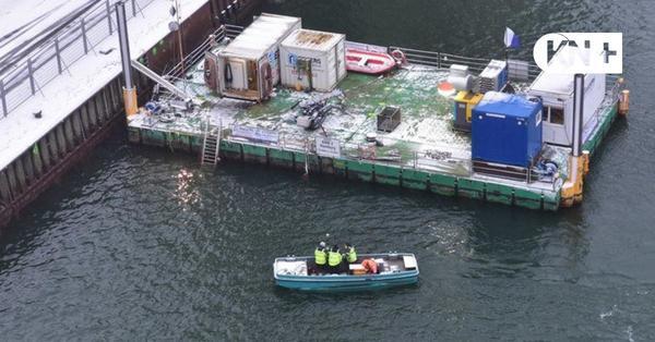 Seehafen Kiel lässt Spundwand am Getreidesilo im Nordhafen erneuern