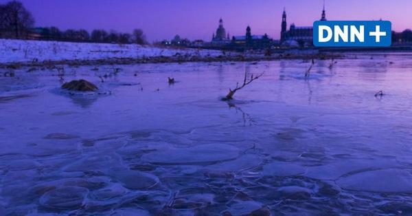 Zugefrorener See: Talsperrenverwaltung warnt vor Betreten der Eisflächen