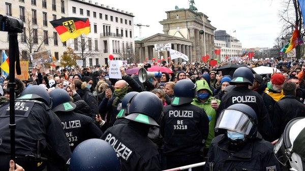 Studie zeigt: Corona-Demos in Berlin und Leipzig waren Superspreader-Events
