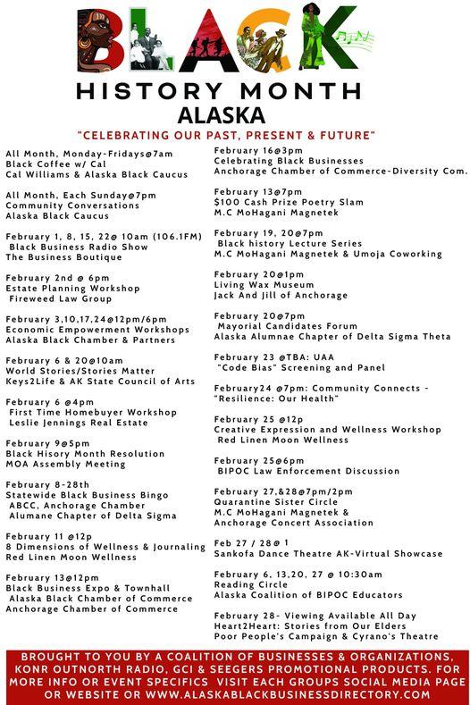 Uaa Calendar 2022.Alaska Issue 4 February 9 2021 Bhm And More Techstars Startup Digest