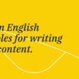 10 plain English principles for writing better content | GatherContent