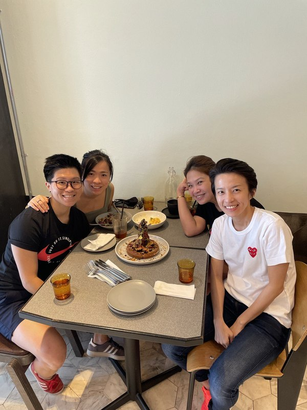 Caught up with my Godsis, Jess and Bestie @ Populas Cafe this week!